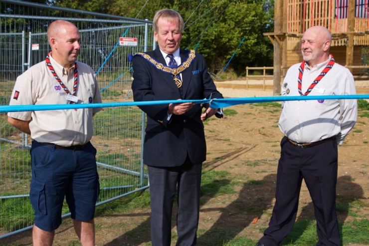 Essex Scouts and Freemasons unveil £250,000 major new community project