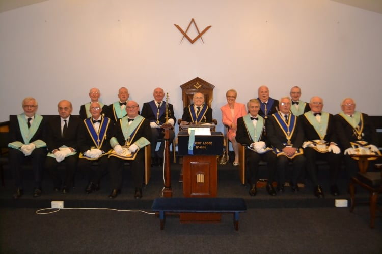 Harold Rutter celebrates 100th birthday with Derwent Lodge No. 4250