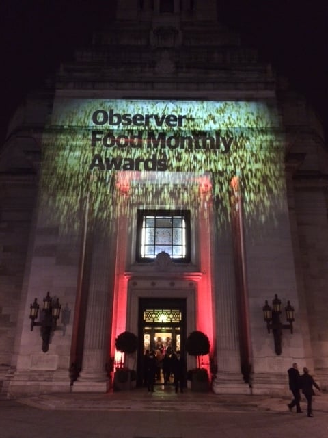 Observer Food Monthly Awards 2014 come to Freemasons' Hall!