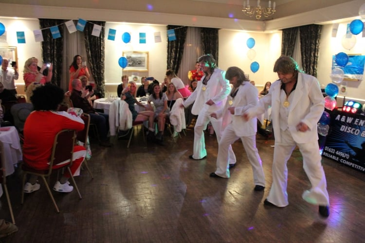 Jasper Tudor Lodge raise £8,000 during 'Stars in their Eyes' evening