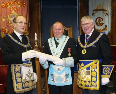 Lodge of Concord No. 343 celebrates its bicentenary