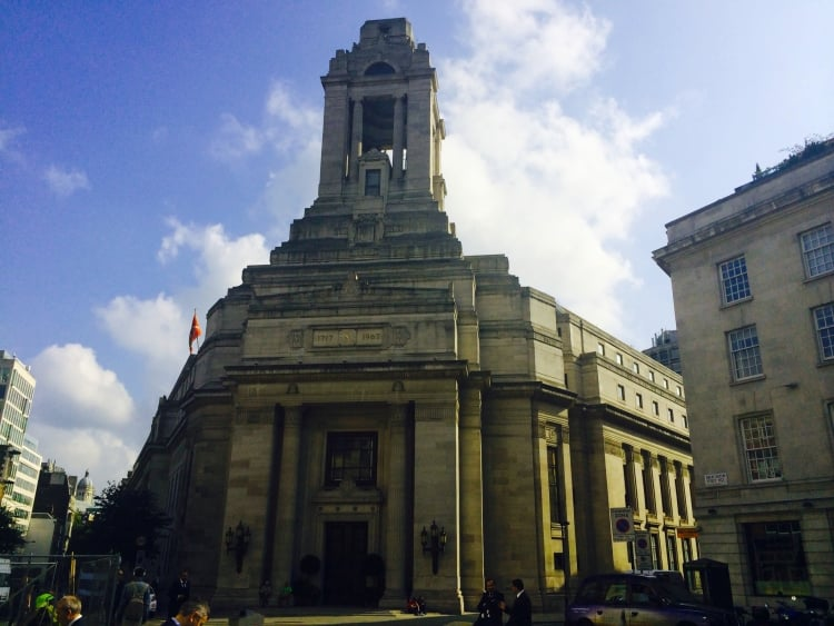 Freemasons' Hall Easter 2015 opening times and tours