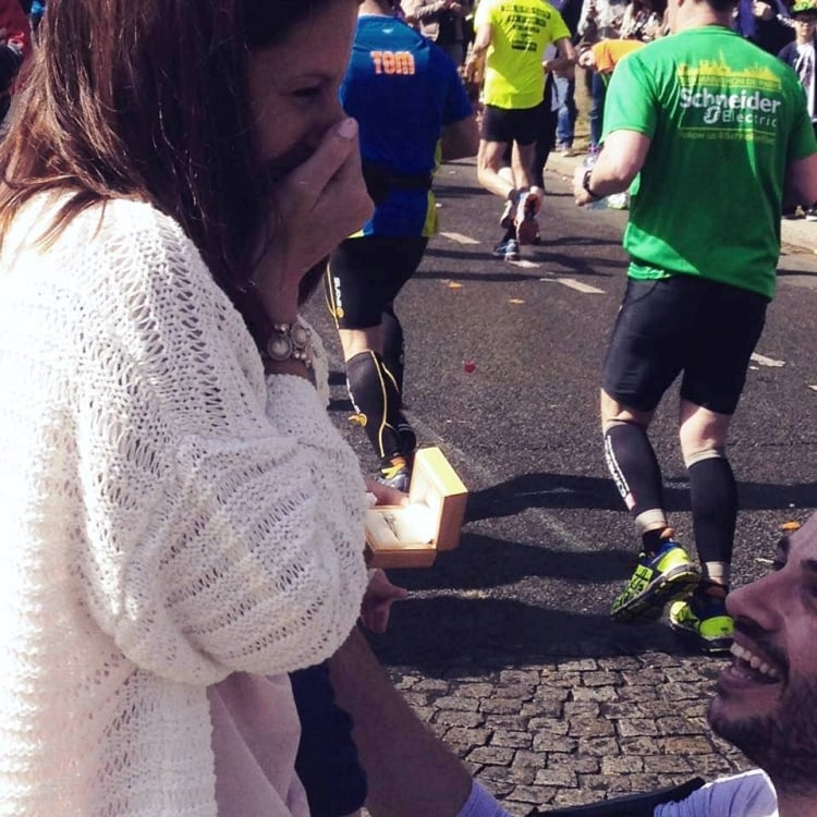 Son inspired to run Paris Marathon by father's support of Masonic Samaritan Fund