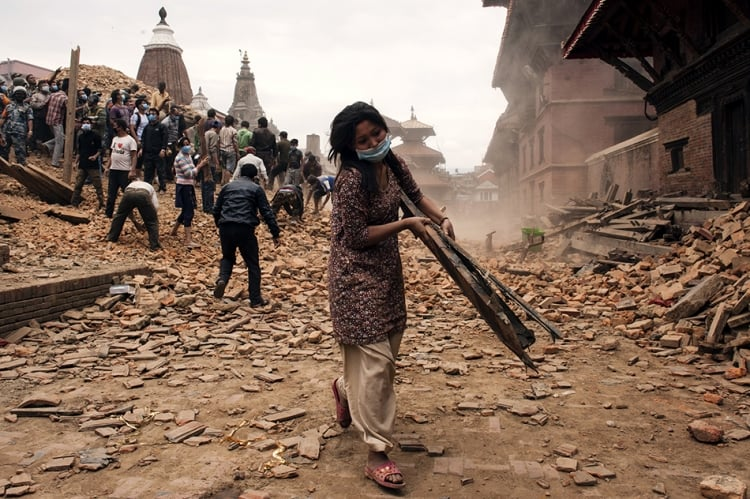 Nepal earthquake: £50k donated to Red Cross by The Freemasons' Grand Charity