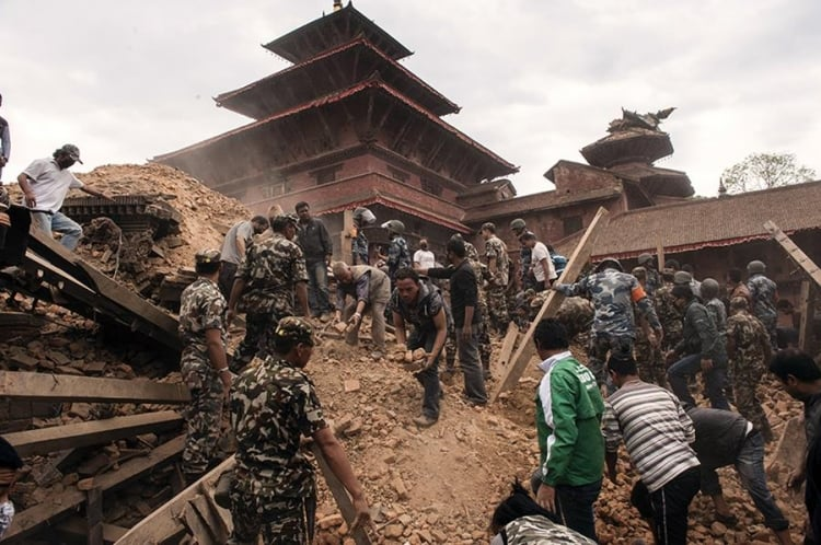 Nepal Earthquake: Relief Chest opened