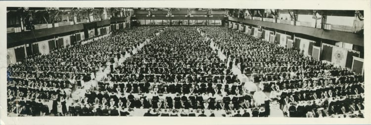 The record-breaking masonic lunch at Olympia in 1925