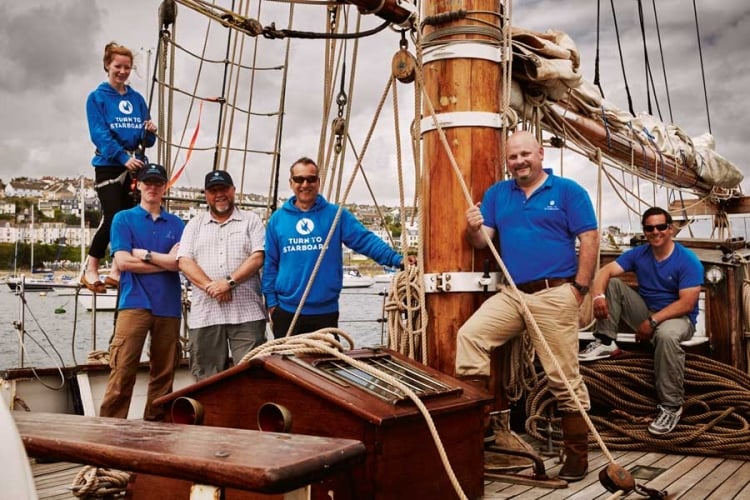 Turn to Starboard charity helping ex-servicemen with PTSD