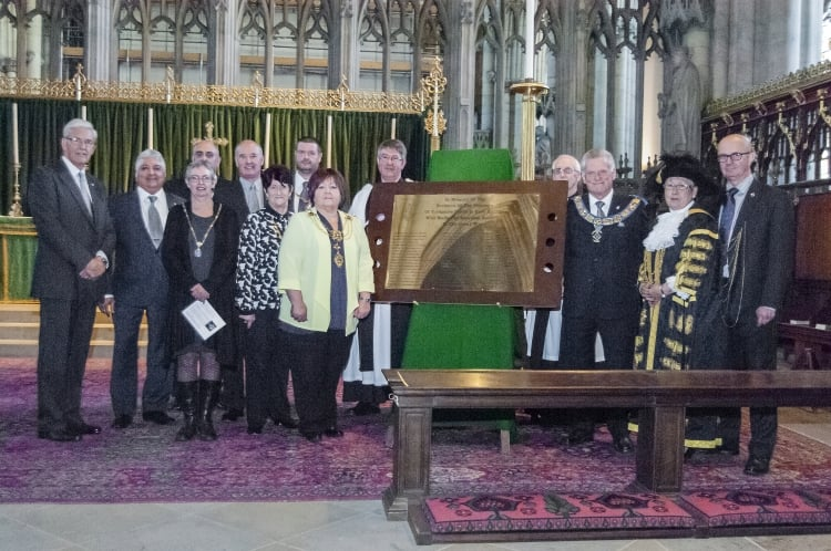 York Minster Church Service in Yorkshire, North and East Ridings