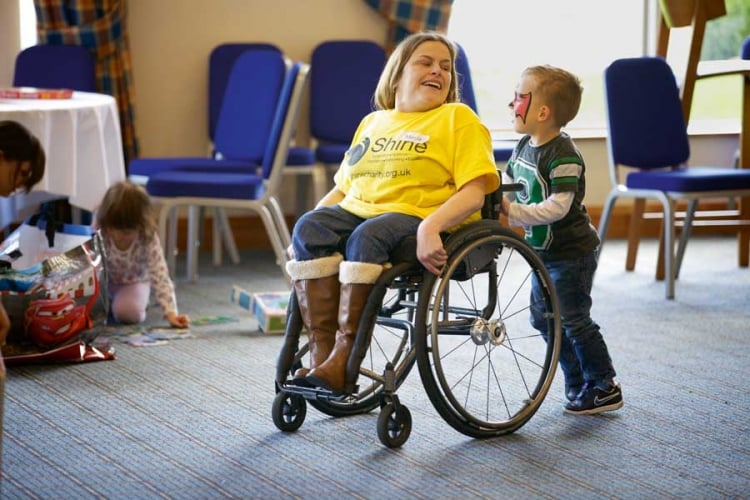 £35k grant to Shine40Plus to help those with spina bifida and hydrocephalus