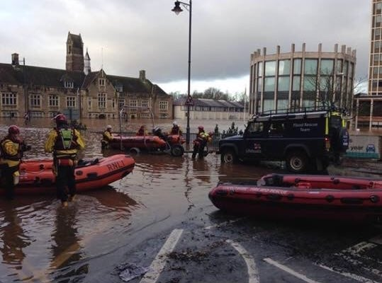 Freemasons donate £30,000 to communities affected by Cumbria floods