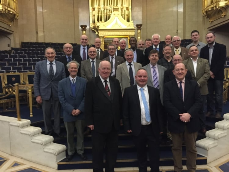 Special Organists' Day takes place in Grand Temple of Freemasons' Hall