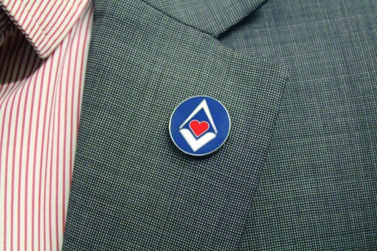 Request your Masonic Charitable Foundation lapel pin