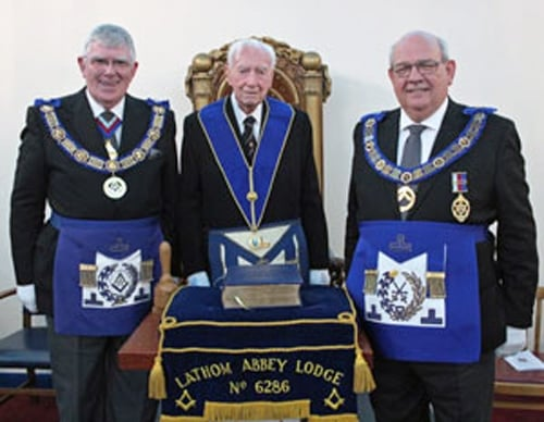 At 105 Richie McKay is honoured by the PGM