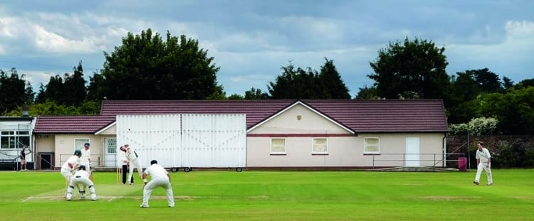 Group of lodges build masonic temple on side of local cricket club