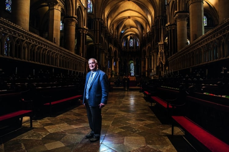 Freemasons take care of iconic Canterbury Cathedral
