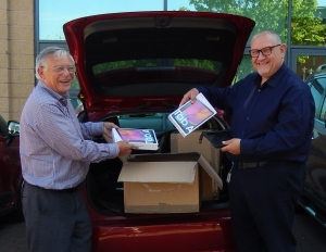 Freemasons donate nearly 1,000 tablets to hospitals and care homes to provide vital contact between loved ones and coronavirus patients