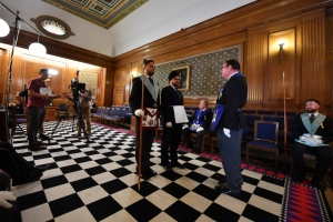 New behind the scenes film – 'Discover Freemasonry'